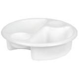 John Lewis The Basics Top and Tail Baby Wash Bowl, White