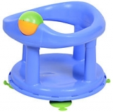 John Lewis - Safety 1st Swivel Baby Bath Seat, Pastel