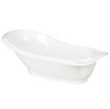 John Lewis The Basics Baby Bath, White