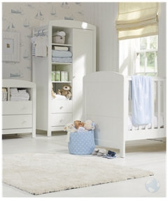 Mothercare   Mothercare Padstow 3 Piece Nursery Furniture Set