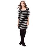 John Lewis - Isabella Oliver Finch Striped Maternity Dress