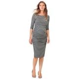 John Lewis - Isabella Oliver Nicholson Striped Maternity Dress