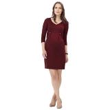 John Lewis - Isabella Oliver Marlow Tab Maternity Dress