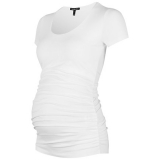 John Lewis - Isabella Oliver Ruched Maternity T-Shirt
