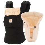 Mothercare - Mothercare - Ergobaby 360 Bundle of Joy Carrier in Black/Camel