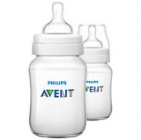 John Lewis - Phillips Avent Classic Baby Bottle, Pack of 2