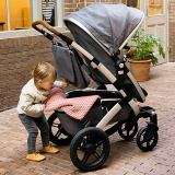 John Lewis - Joolz Geo Mono Pushchair with Carrycot