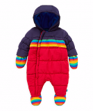Mothercare - Little Bird by Jools Striped Snowsuit