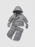 Vertbaudet - Newborn 3-in-1 Puffer Style Convertible Snowsuit