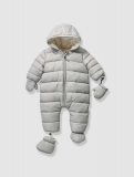Vertbaudet - Baby's Padded, Lined & Quilted Snowsuit