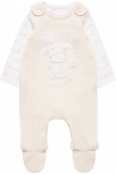 Mothercare - Little Giraffe Dungaree and Bodysuit Set