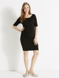 Vertbaudet - Black Maternity Dress