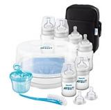 John Lewis - Philips Avent Natural Bottle Feeding Set