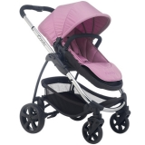 John Lewis - iCandy Strawberry 2 Pushchair with Chrome Chassis, Carrycot & Smoothie Hood