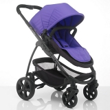 John Lewis - iCandy Strawberry 2 Pushchair with Black Chassis, Carrycot & Prism Fabrics