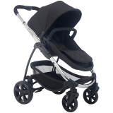 John Lewis - iCandy Strawberry 2 Pushchair with Chrome Chassis, Carrycot & Anthracite Hood