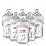 Mothercare - Nuby Natural Touch Easy Latch Milk Bottles