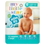 Superdrug - My Little Star Extra Large Nappies