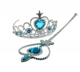 Amazon - Daisy Snow Queen Girls Crown and Magic Wand Set