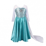 Amazon - Frozen Elsa Anna Princess Dress Up Costume