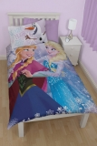 Amazon - Disney Frozen Crystal Children's Single Panel Duvet Bed Set