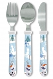 Amazon - Frozen Olaf Cutlery Set