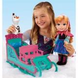 Smyths Toy Store - Anna's Disney Frozen Adventure Sleigh Set