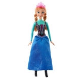 Smyths Toy Store - Disney Frozen Sparkle Princess Anna Doll