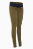 Soft Peached Jeans in Khaki