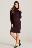 Next Berry Maternity Cold Shoulder Dress - Next Berry Maternity Cold Shoulder Dress