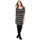 John Lewis - Isabella Oliver Finch Striped Maternity Dress