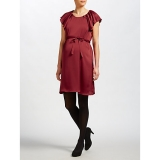 John Lewis - Mamalicious Veronica Frill Sleeve Maternity Dress