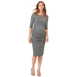 John Lewis - Isabella Oliver Nicholson Striped Maternity Dress