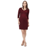 John Lewis - Isabella Oliver Marlow Tab Maternity Dress