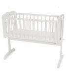 Mothercare Swinging Crib - Mothercare Swinging Crib in White