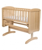 Mothercare Deluxe Gliding Crib - Mothercare Deluxe Gliding Crib