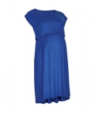 Mothercare - Mothercare - Blooming Marvellous Sea Blue Jersey Nursing Dress