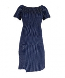 Mothercare - Mothercare - Oh Ma! Navy Spotted Maternity Dress
