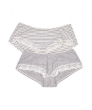 Mothercare - Mothercare - Spot and Stripe Maternity Short Briefs