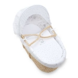 Mothercare - Mothercare Lullaby Moon Moses Basket