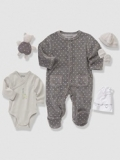 Vertbaudet - 5-Piece Newborn Gift Set & Bag