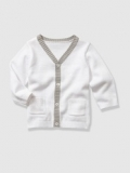 Vertbaudet - Baby Boy's V-Neck Knitted Cardigan