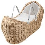 John Lewis - John Lewis Heritage Wicker Moses Basket