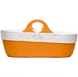 John Lewis - Moba Moses Basket and Mattress Tangerine
