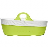 John Lewis - Moba Moses Basket and Mattress in Apple