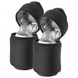 John Lewis - Tommee Tippee Closer to Nature Insulated Bottle Bags, Pack of 2