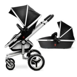 John Lewis - Silver Cross Surf2 Pram Chassis, Seat and Carrycot