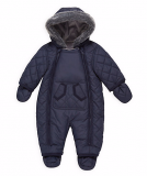 Mothercare - Quilted Baby Snowsuit