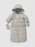 Vertbaudet - Baby's Baby Convertible All-In-One Snowsuit