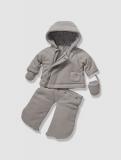 Vertbaudet - Newborn 3-in-1 Fleece Convertible Snowsuit